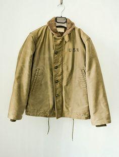 WWII USN Deck jacket.