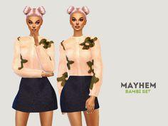 Bambi Set by NataliMayhem at TSR via Sims 4 Updates