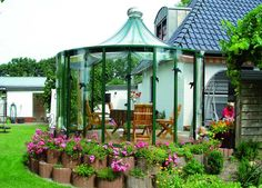 Glass Garden Sunroom| Gothic Arch Greenhouses