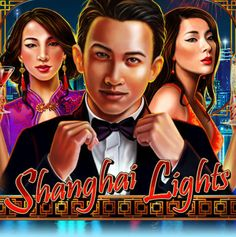 New Slot 'Shanghai Lights' - Free Spins & Match Bonuses At Jackpot Capital Casino!