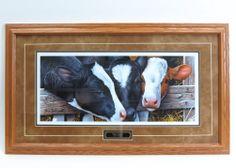 `Dairy Queens` 35 x 20 Framed Print by Jerry Gadamus