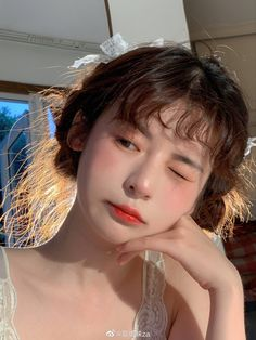 Uzzlang Girl, Girl Day, Girls In Love, Cute Girls, Asian Short Hair, Cute Korean Girl, Model Face, Aesthetic Girl, Korean Aesthetic