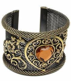 Bracelet of Love Victorian Mesh Heart Style Flower Cuff Bracelet SABZ JEWELRY. $17.99. ETCHED STYLE. HEART MESH CUFF. NEW FASHION DESIGN. COMFORT FIT CUFF. 3D FLOWER DESIGN
