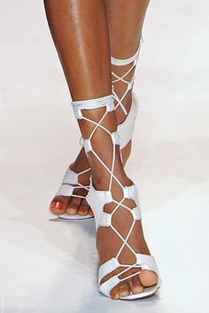 Tracy Reece SP 14 Beach Wedding Shoes, Lace Up, Footwear, Flats, How To Wear, Fashion, Loafers & Slip Ons, Moda, Shoe
