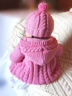 Adorable gift idea for my friends with babies. Baby sweater hat socks set Hand Knit Merino wool Baby by Pilland Baby Knitting Patterns, Baby Cardigan Knitting Pattern Free, Baby Sweater Patterns, Baby Boy Knitting, Knit Baby Sweaters, Knitted Baby Clothes, Knitting For Kids, Baby Patterns, Free Knitting