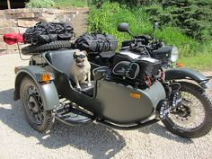 ural motorcycle towing trailer - Google Search