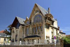 Villa Majorelle by Henri Sauvage (Nancy/ France): awesome_places — LiveJournal Architecture Art Nouveau, Architecture Details, Building Facade, Building A House, Henri Sauvage, Style École, Nancy France, House Of Leaves, Villa France