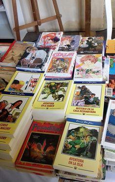 Another Book Festival Enid Blyton, Book Festival, Cadiz, Andalucia, Spanish, Books, Monsters, Boats, Adventure