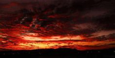 Sunsets of the hill of dead Aguascalientes Mexico