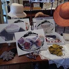 aii さんと R in myheadさんのフェアーを開催します  2017年4月20日~5月2日 THE LACECENTER harajukuにて  #lace #fashion #レース #付け襟 #ヘッドアクセサリー