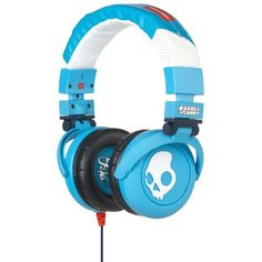 GI Micd  dB Over Ear Headphones in Shoe Blue by SkullCandy >>> Read more  at the image link.