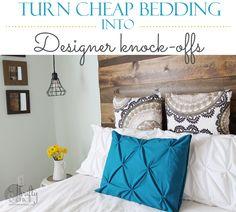 Get the designer pintuck look for under $20! Duvet included!