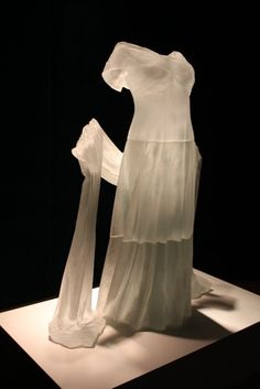 Glass Dress at the Corning Museum of Glass, Corning, NY