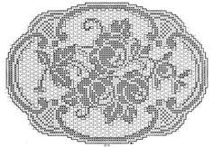 mantel a crochet Crochet Dollies, Crochet Art, Crochet Stitches Patterns, Thread Crochet, Crochet Designs, Crochet Hooks, Filet Crochet Charts, Fillet Crochet, Crochet Decoration