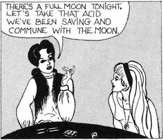 commune with the moon