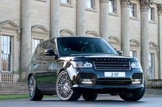 New Overfinch Range Rover revealed www.truefleet.co.uk