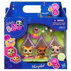 "Littlest Pet Shop Petriplets - Bears - Hasbro - Toys ""R"" Us"