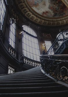 Dark up the stairs Gothic Architecture, Beautiful Architecture, Slytherin Aesthetic, Sombre, Stairways, Aesthetic Wallpapers, Les Oeuvres, Medieval, Scenery