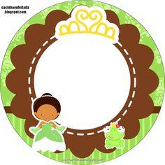 Casinha de Criança: Kit Festa Princesa Tiana Para Imprimir Grátis