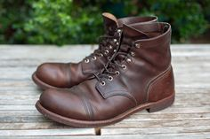 Red Wing Iron Ranger, 8 months wear.