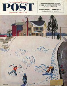 1953 John Falter art for Saturday Evening Post  |  #RetroReveries