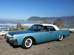 Scenes Of A #Classic 1961 #Lincoln Continental #Convertible #classiccars #autos #cars