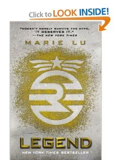 Legend by Marie Lu (1st book in the Legend trilogy). This trilogy has been compared to the Hunger Games trilogy.