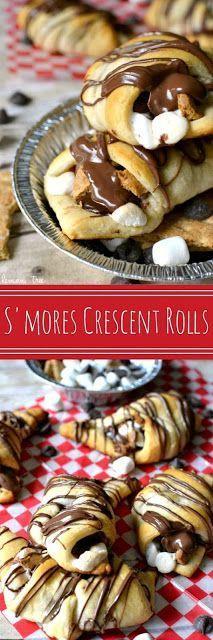 S'MORES CRESCENT ROLLS RECIPE | Recipe Zero