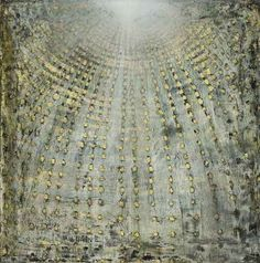 blastedheath:  Ross Bleckner (American, b. 1949), Study for... | MICCI