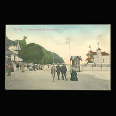 Vintage Postcard Sassnitz Germany from JMCVintagecards on Etsy