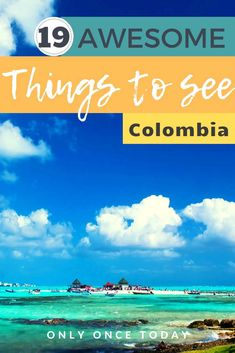 Amazing bucket list Colombia with the 19 very best places to visit in this gorgeous South American country! What not to miss in Colombia! Visit Colombia, Colombia Travel, Backpacking South America, South America Travel, South America Destinations, Travel Destinations, Amazing Destinations, South American Countries, Travel Guides