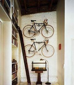 books and bikes