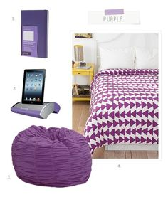 Pregnancy, Parenting, Lifestyle, Beauty: Tips & Advice Dorm Roo… - Modern Purple Dorm Rooms, Dorm Room Colors, Cool Dorm Rooms, Urban Outfitters, Dorm Room Seating, College Comforter, Dorm Room Storage, Room Essentials, Room Accessories