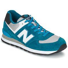 New Balance ML574 Azul / Cinza 350x350