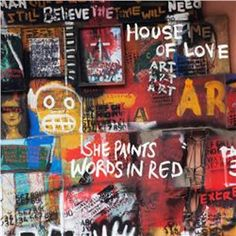 The House of Love - She Paints Words In Red (limited edt. red vinyl)
