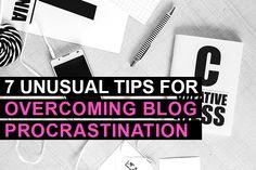 7 Unusual Tips for Overcoming Blog Procrastination | Jessica Says
