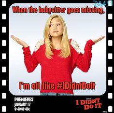 """I Didn't Do It"" Promo Pics December 24, 2013"