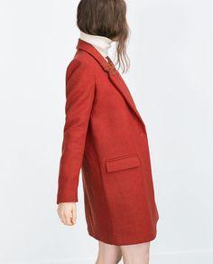 Image 3 of MASCULINE COAT from Zara