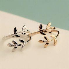 Adjustable leaf rings