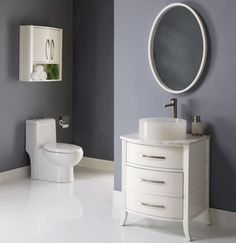 Bathroom, Modern Bathroom Design Decor White Bathroom Vanities And Mirrors Small Japanese Home For Space Conscious Interiors: Eye-Catching Japanese Bathroom Design Small Space