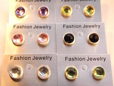 Fashion Acrylic Ear Studs , with Brass Earstud Components and Plastic Earring Earnuts Plastic Earrings, Resin Flowers, Ear Studs, Femininity, Color Mixing, Fashion Jewelry, Pearl Earrings, Beauty, Pearl Studs