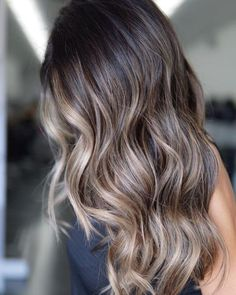 Brunette Hair Color With Highlights, Balayage Hair Blonde, Brown Blonde Hair, Hair Highlights, Brown Balayage, Cool Tone Brown Hair, Balayage Hair Brunette With Blonde, Blonde Honey, Honey Balayage