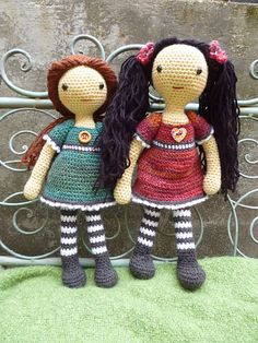 Ravelry: Emily Doll pattern by Janine Holmes.  $4.20 FOR PATTERN.