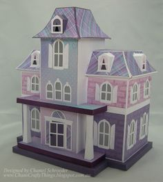 Chan's Crafty Things: Doll House Mansion