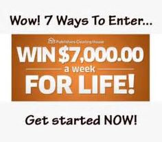 PCH Win 10 Million Dollars Sweepstakes Instant Win Sweepstakes, Online Sweepstakes, Pch Dream Home, 10 Million Dollars, Win For Life, Congratulations To You, Publisher Clearing House, Instant Win Games, Winning Numbers