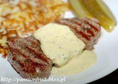 Sos musztardowy Polish Food, Polish Recipes, Dips, Opera, Bacon, Dressing, Homemade, Cooking, Breakfast