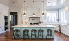 A kitchen has to be functional above all else, but it's nice to add some personal style, too.