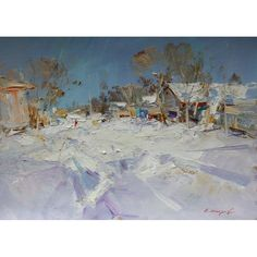 russian impressionist painting - andrei inozemtsev