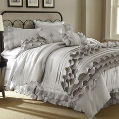 Found it at AllModern - Anastacia 8 Piece Comforter Set in Pearl White