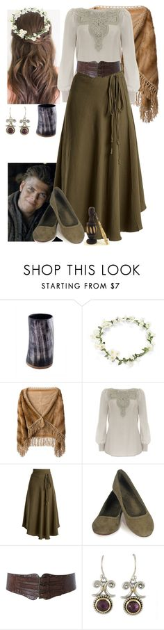 """Vikings Ivar the Boneless's Wife"" by werewolf-gurl ❤ liked on Polyvore featuring Liska, Mint Velvet, Apiece Apart and Miss Selfridge"